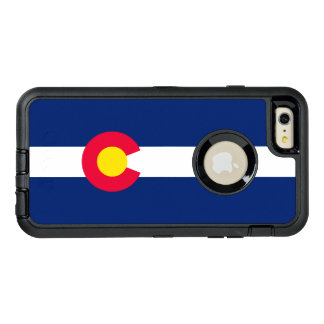 Dynamic Colorado State Flag Graphic on a OtterBox Defender iPhone Case
