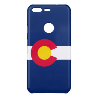 Dynamic Colorado State Flag Graphic on a Uncommon Google Pixel Case