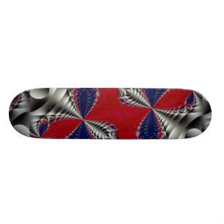 Dynamic Fractal Skateboard Deck