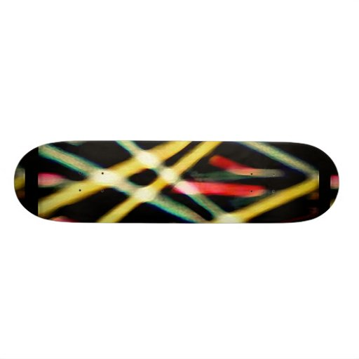 Dynamic Lines Abstract Background Skate Deck