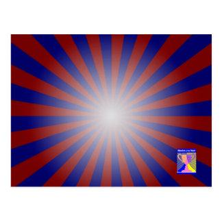 Dynamic Luminance-Gradient Postcard