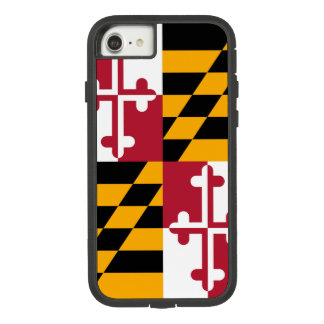 Dynamic Maryland State Flag Graphic on a Case-Mate Tough Extreme iPhone 8/7 Case
