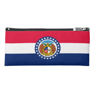 Dynamic Missouri State Flag Graphic on a Pencil Case