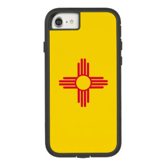 Dynamic New Mexico State Flag Graphic on a Case-Mate Tough Extreme iPhone 8/7 Case