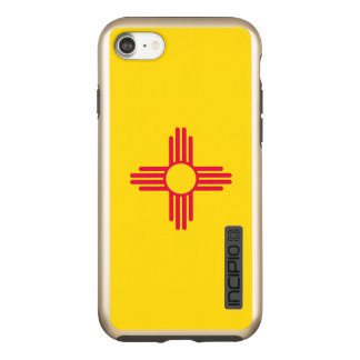 Dynamic New Mexico State Flag Graphic on a Incipio DualPro Shine iPhone 8/7 Case