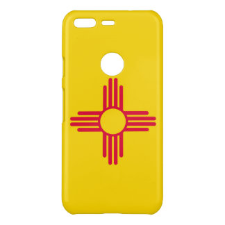 Dynamic New Mexico State Flag Graphic on a Uncommon Google Pixel Case