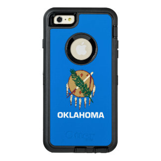 Dynamic Oklahoma State Flag Graphic on a OtterBox iPhone 6/6s Plus Case