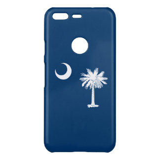 Dynamic South Carolina State Flag Graphic on a Uncommon Google Pixel Case