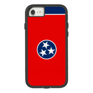 Dynamic Tennessee State Flag Graphic on a Case-Mate Tough Extreme iPhone 8/7 Case