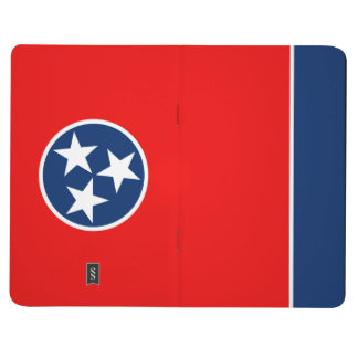 Dynamic Tennessee State Flag Graphic on a Journal