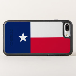 Dynamic Texas State Flag Graphic on a OtterBox Symmetry iPhone 8 Plus/7 Plus Case