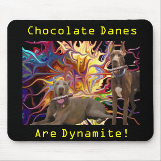 Dynamite Chocolate Dane Brothers Mouse Pad