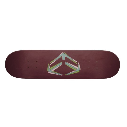 Dynamo Red Skateboard Deck