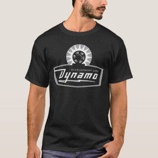 Dynamo Retro Black T-Shirt