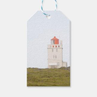 Dyrholaey Lighthouse Iceland Gift Tag