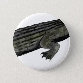 Dyrosaurus_BW 2 Inch Round Button