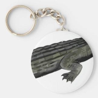 Dyrosaurus_BW Keychain