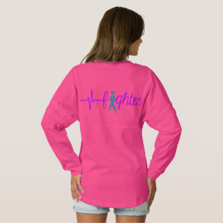 Dys Ribbon Words/Fighter - two sided Spirit Jersey