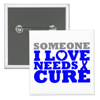 Dysautonomia Someone I Love Needs A Cure 2 Inch Square Button