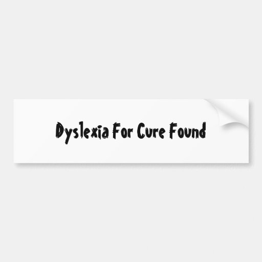 How To Cure Dyslexia Falling Over