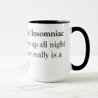 Dyslexic Agnostic Insomniac Mug