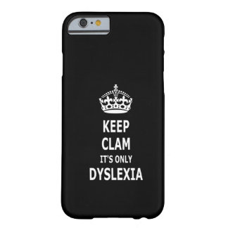 Dyslexie drôle coque barely there iPhone 6