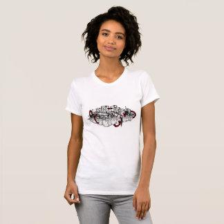 Dystopian White Shirt