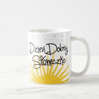Dzień Dobry Słoneczko Coffee Mug