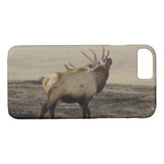 E0039 Bull Elk Bugling Iphone 8/7 phone case