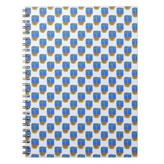 e1 spiral notebook
