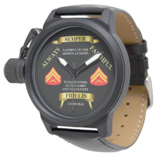 E-4 SEMPER FIDELIS / ALWAYS FAITHFUL WATCH