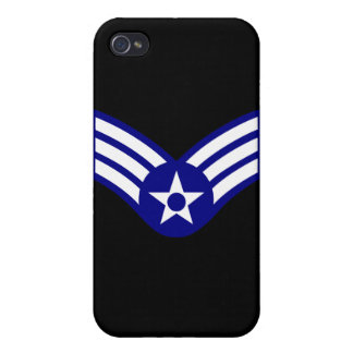 E-4 SrA Senior Airman  USAF iPhone 4 Cover