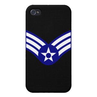 E-4 SrA Senior Airman  USAF iPhone 4 Cover