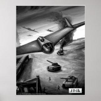 E-555 Bombing Run Poster