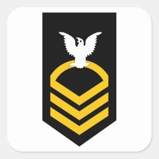 E-7 Chief Petty Officer Square Sticker