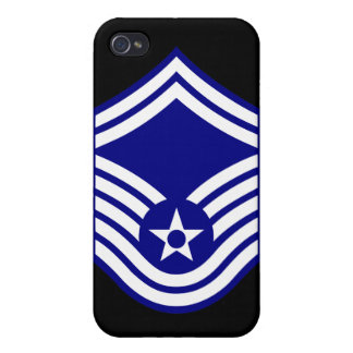 E-8 SMSgt Senior Master Sergeant USAF iPhone 4 Covers