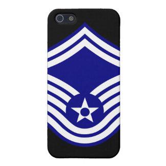 E-8 SMSgt Senior Master Sergeant USAF iPhone 5 Cover