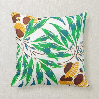 E.A. Séguy Art Deco Art Nouveau Sunflowers Throw Pillow