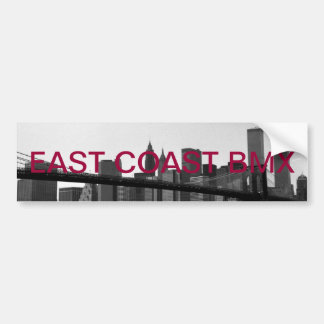 E.c.b sticker Brooklyn bridge Bumper Sticker