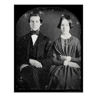 E. Darwin & Cooper Daguerreotype 1850 Poster