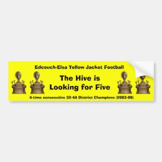 E-E 4-time District Champs sticker