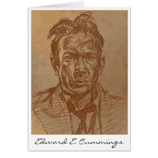 E. E.Cummings Card