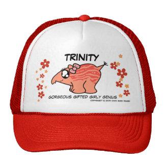 """e.e.h.r...? Trinity """"Genius"""" Trucker Trucker Hat"""