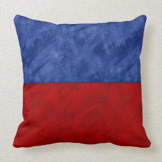 E Echo Watercolor Nautical Signal Maritime Flag Throw Pillow