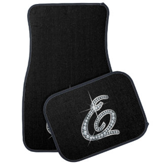 "E Faux-""Diamond Bling"" Car Mat"
