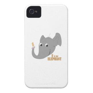 E For Elephant iPhone 4 Cover