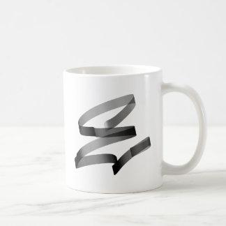 E graffiti coffee mug