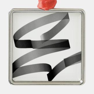 E graffiti metal ornament