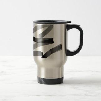 E graffiti travel mug