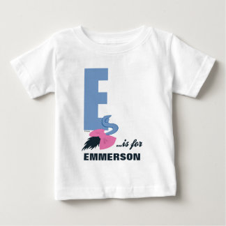 E is for Eeyore | Add Your Name 2 Baby T-Shirt